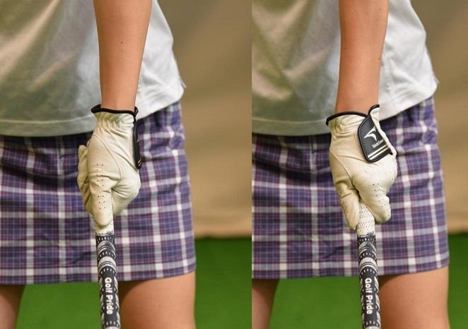ゴルフ グリップ 握り 方